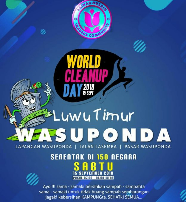 World Cleanup Day 2018.